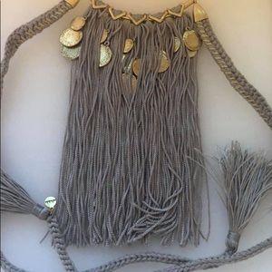 NIB Stella & Dot Samar Fringe necklace